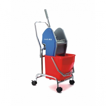18L Down-press Single Mop Wringer Trolley B-044